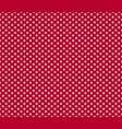 american patriotic seamless pattern white stars vector image