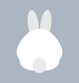 Rabbit Bottom vector image