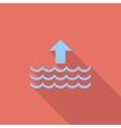 Edd single flat icon vector image vector image
