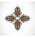 Orange - blue abstraction vector image vector image
