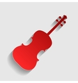 Violine sign vector image