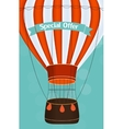 Air Balloon Background vector image vector image