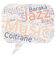 Music and Politics text background wordcloud vector image