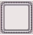frame vintage pattern vector image vector image