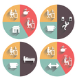 Daily Routine vector image