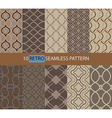 Simple retro seamless pattern vector image