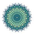 Mandala Line Template vector image