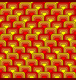 bright squares pattern vector image