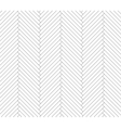 Black and white parquet pattern vector image