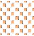 brown paper bag pattern vector image