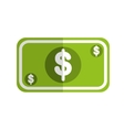 money symbol icon vector image