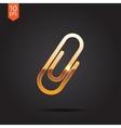 clip icon Eps10 vector image