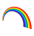 Rainbow icon cartoon vector image
