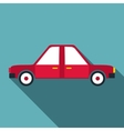 Car icon flat style vector image