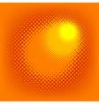 halftone effect vector vector image vector image