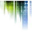 colourful stripes design vector image
