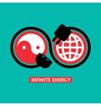 Infinite Energy concept vector image