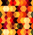warm square seamless pattern vector image