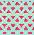 sweet watermelon seamless pattern with polka dot vector image vector image