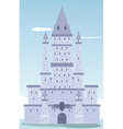 Castle design vector image vector image