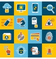 Data Protection Set vector image