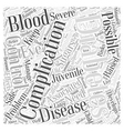 Complications Associated with Juvenile Diabetes vector image