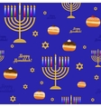 Seamless pattern with symbols for holiday of vector image