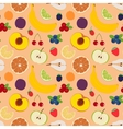 Fruits and berries seamless pattern 5 vector image