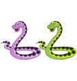 The snake symbol in 2013 vector image