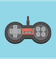 vintage game joystick gamepad icon vector image