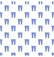 men fashion accesory pants pattern seamless vector image