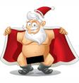 Crazy Santa - Cartoon vector image