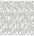 seamless pattern leaves vector image vector image