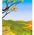 Fall Landscape vector image vector image