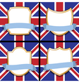 uk shields vector image