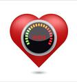 High blood pressure digital concept vector image