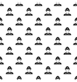 Firefighter pattern simple style vector image