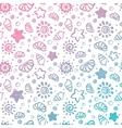 Summer shell pattern vector image