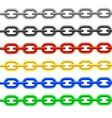Colorful Chain vector image