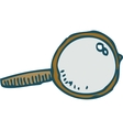 Loupe or Magnifying Glass vector image