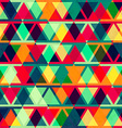 vintage triangle seamless texture vector image