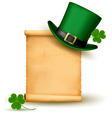 saint patrick day card vector image
