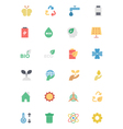 Ecology Icons 2 vector image