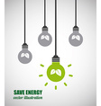 energy graphic vector image