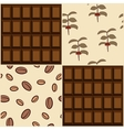 Coffee and chocolate design vector image vector image