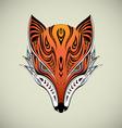 Tribal Fox 1 vector image