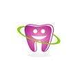 teeth dental smile beauty logo vector image vector image