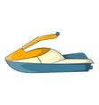Jet ski icon cartoon style vector image