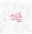 christmas holiday background with christmas tree vector image