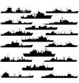Supply vessel vector image